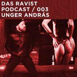 Das Ravist Podcast / 03 – Unger András