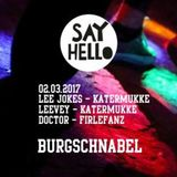 Say Hello at Burg Schnabel (Berlin)