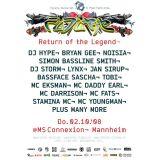 DJ Storm + MC Stamina @ FUTURE Return of the Legend, MS Connexion, Mannheim (02.10.2008)