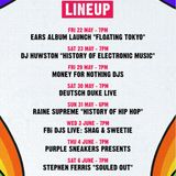A History Of Electronic Music - live at the Newtown Hotel Vivid Sydney Pop Up Thing