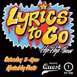 Quest Lyrics To Go Hip Hop Show w/ Miss Fabrik8 February 6th 2016