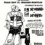 DJ Krome w/ Mr Time - Suburban Base showcase  Madisons, Bournemouth - 17.9.1991