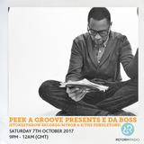 Peek A Groove Presents E Da Boss (Stones Throw Records/Myron & E/The Pendletons) 7th October 2017