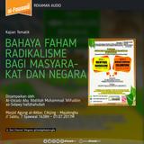 [Sesi 1] Bahaya Faham Radikalisme Bagi Masyarakat dan Negara
