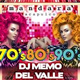 Mandara Acapulco 70's 80's 90's  5 Junio 2015