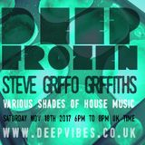 Deep Frozen with (A Geezer Called) Griffo - Nov 18th 2017 - Deep Vibes
