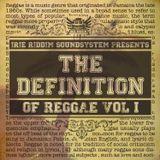 Definition of Reggae Vol. 1