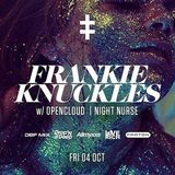 Frankie Knuckles @ The Travis, Dallas, TX - 04.10.2013