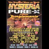 DJ Penfold - Hysteria vs Pure X - Greatest Show on Earth, Jungle Mania  - Sanctuary 1994