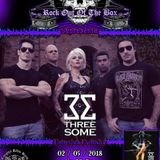 Programa Rock Out Of The Box - #12 - Entrevista com a banda Threesome (02.05.2018)