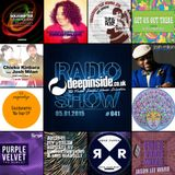 DEEPINSIDE RADIO SHOW 041 (Josh Milan Artist of the week)