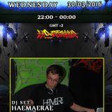 Haemaerae Dj Set broadcasted on Dragonfly radio 30 March 2016