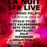 Fritz Kalkbrenner - La Nuit SFR Live @ Grand Palais (2013.09.21 - Paris, France)