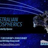 Australian Atmospherics September 13th 2019 hosted by Operon @BASSDRIVE.COM