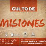 Predicación 18 de octubre 2014 - Culto de Misiones