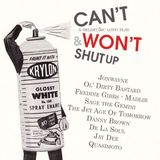 Can't and won't shut up