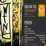 Deckster & R.Rohr (Live PA) @ Clubfreundschaft - Treibhaus Glöwen - 06.04.2013