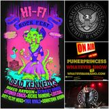 PunkrPrincess Whatever Show live with Richie Ramone