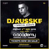 DJ Russke @ 02 Academy Birmingham Friday 4th May PROMO M1X