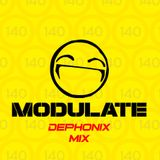 Dephonix Modulate 140 Mix - Future Jungle / Nu-Rave / J-Tek / Breakbeat