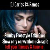 Sunday's Night Freestyle Mix - DJ Carlos C4 Ramos