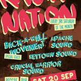 Back-a-wall Movement @ Rasta Nation #51 (Sep 2014) part 4/9