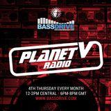 Planet V Radio on Bassdrive  with Bryan Gee November  2017