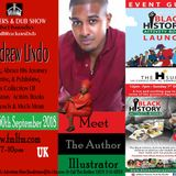 ROCKERS & DUB SHOW NAFFI-I MEETS  ANDREW LINDO REASONING- ON HIS  JOURNEY & ACTIVITY BLACK  BOOKS