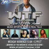 WyzeTyFly & Friends Your At Work iRadio Real Talk Radio Show 9-4-14