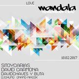 David Chaves & BuTa @ Love Mandala (Driebes, Guadalajara) 18.02.2017