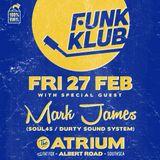 Funk Klub Feb 2015 Mark James