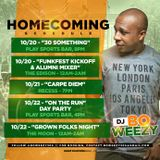 Bo Weezy - FAMU Homecoming Mini Mix (Clean)