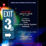 Exit3 DnB Live Mix - June 1, 2018