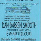 Dj Dan Cartel live vinyl mix (Deep Cartel clubnight @The Casbar, above Barts Tavern, Exeter 2001)