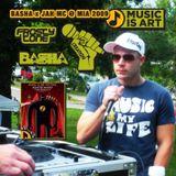 Basha & Jah MC @ Music is Art 2009