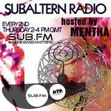 Mentha + Elefant Doc Guestmix - Subaltern Radio 03/07/14