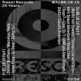 DisX3 @ Tresor Records 25 Years Part II - Tresor Berlin - 08.10.2016 - Pt.1