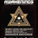 Valentino Kanzyani b2b Ernesto Ferreyra - Live @ Cadenza meets Planet E, Awakenings (ADE 2013, Gasho