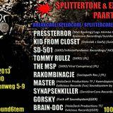 Synapsenkiller at Splittercore Extracore Party - Kili_Berlin 07-09-2013
