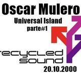 Oscar Mulero - Live @ Recycled Sound, Universal Island (Leganes-Madrid) (20.10.2000) Parte#1