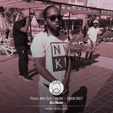 DJ Nate - 6th October 2016