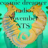 Cosmic Dreamer Radio - 4th November 2019