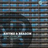 Rhyme & Reason 5th May 2017