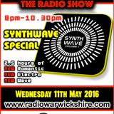 RW074 - THE JOHNNY NORMAL RADIO SHOW - 11TH MAY 2016 - RADIO WARWICKSHIRE