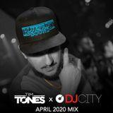 """Dj Tim Tones - Dj City April 2020 Mix """"Afro Beats, Moombahton and Reggae"""""""