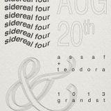 sidereal four: assaf + teodora