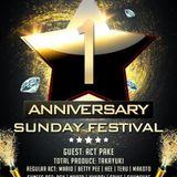 Sunday Festival 1stANN