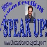 Christian Devotions Speak UP! with R.E. Clark