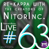 Gensokyo Radio Live #63: Re-kappa with the creators of NitorInc.