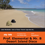 The one where Mr B and Professor Elemental washed up on www.thethursdaynightshow.com desert island